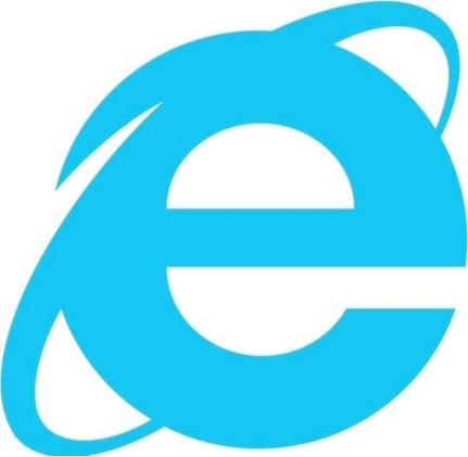 Logo des Internet Explorer